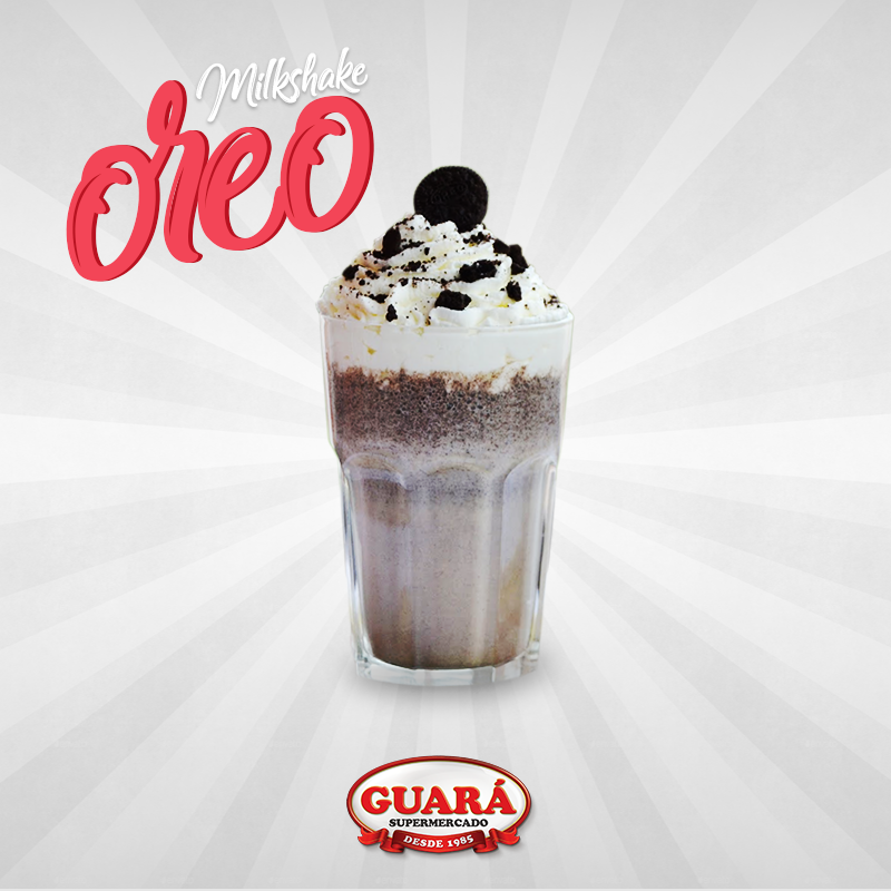 Milkshake de Oreo